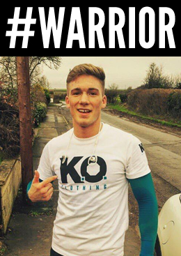 Farewell to the warrior that is Nick Blackwell