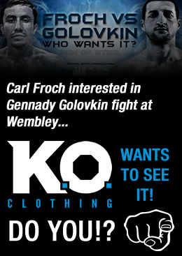 Carl Froch vs GGG Super Fight at Wembley...?