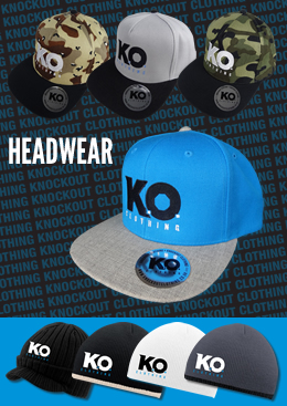 Knockout Clothing new range of hats & beanies!