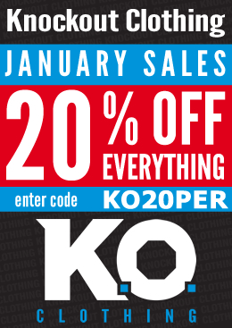 Knockout Clothing January Sales!