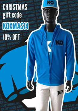 Knockout Clothing Christmas gift code. 10% OFF!