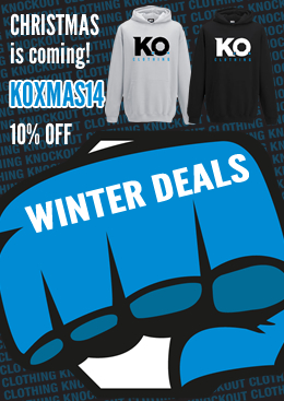 Knockout Clothing Xmas gift code. 10% OFF!