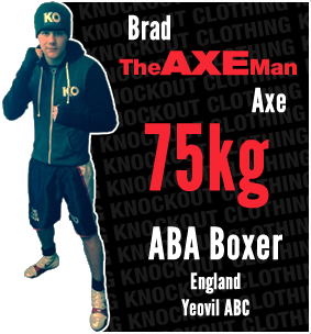 Knockout Clothing Sponsors Brad 'The Axe Man' Axe
