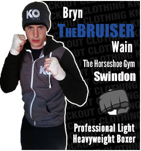 Knockout Clothing Sponsors Bryn 'The Bruiser' Wain