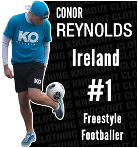 Knockout Clothing Sponsors Conor Reynolds