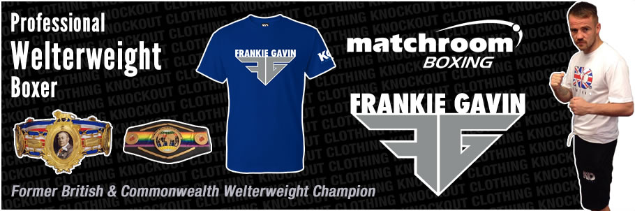 Knockout Clothing Sponsors 'Fun Time' Frankie Gavin