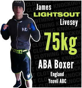 Knockout Clothing Sponsors James 'Lightsout' Livesey
