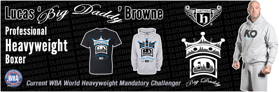 Knockout Clothing Sponsors Lucas 'Big Daddy' Browne
