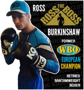 Knockout Clothing Sponsors Ross 'The Boss' Burkinshaw