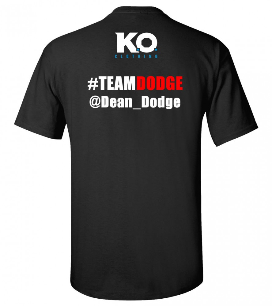 Dean Dodge Team Dodge Fight Night T-Shirt | K.O. Clothing