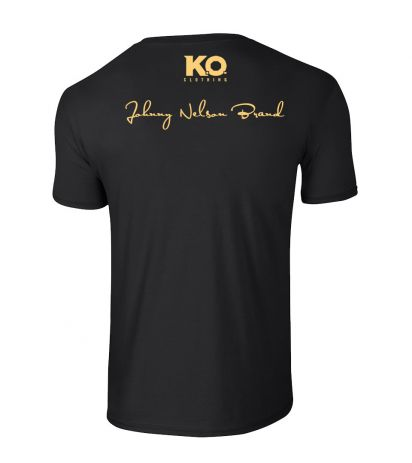 Johnny Nelson Brand Weight Class T-Shirt Black