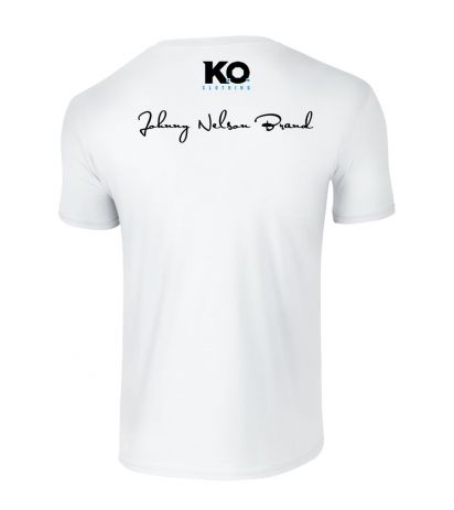 Johnny Nelson Brand Weight Class T-Shirt White