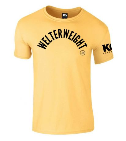 Johnny Nelson Brand Weight Class T-Shirt Yellow