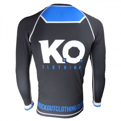 Knockout Rash Guard Long Sleeve