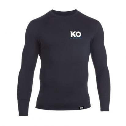 Long Sleeve Training Top Black