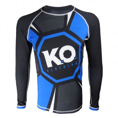 Octagon Rash Guard Long Sleeve