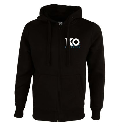 Original Zipped Hoodie Black
