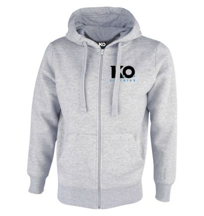 Original Zipped Hoodie Grey
