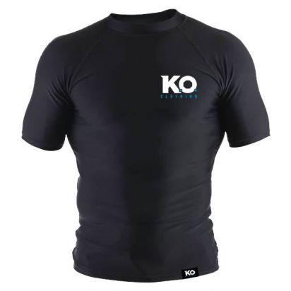Short Sleeve Training Top Black