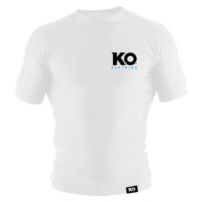 Short Sleeve Training Top White