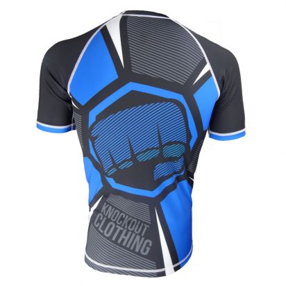 Octagon Rash Guard Short Sleeve