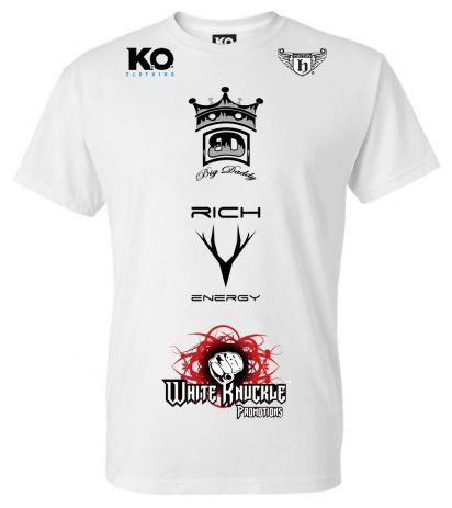 Team Big Daddy Fight Night T-Shirt