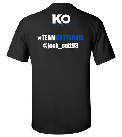Team Catterall Fight Night T-Shirt