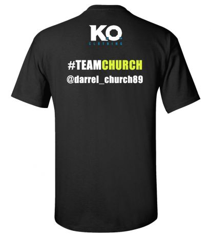 Team Church Fight Night T-Shirt