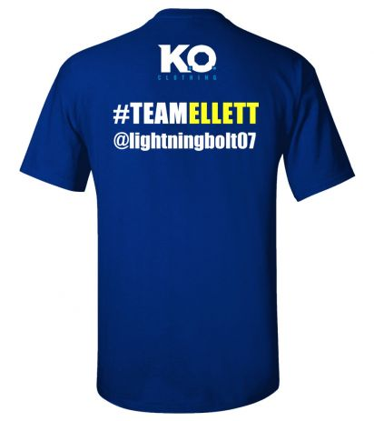 Team Ellett Fight Night T-Shirt