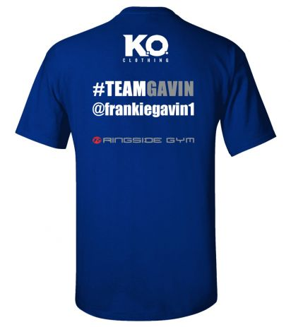Team Gavin Fight Night T-Shirt