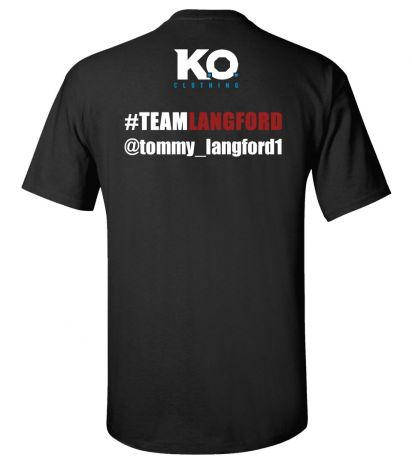 Team Langford Fight Night T-Shirt