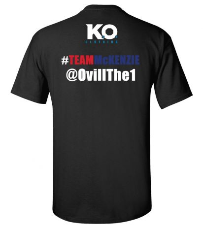 Team McKenzie Fight Night T-Shirt