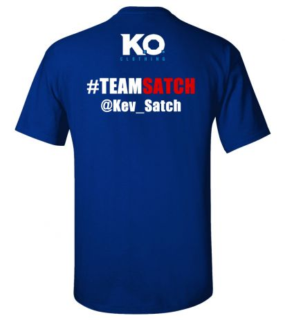 Team Satch Fight Night T-Shirt