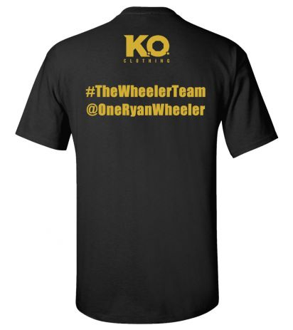 Team Wheeler Fight Night T-Shirt