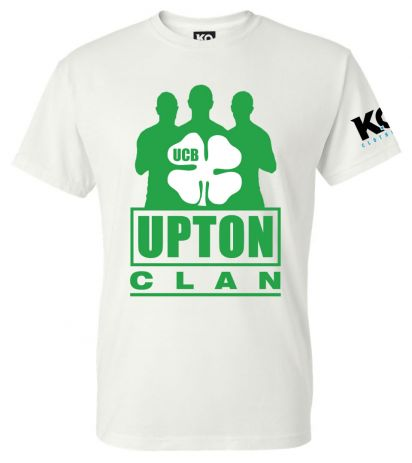 Upton Clan Fight Night T-Shirt White
