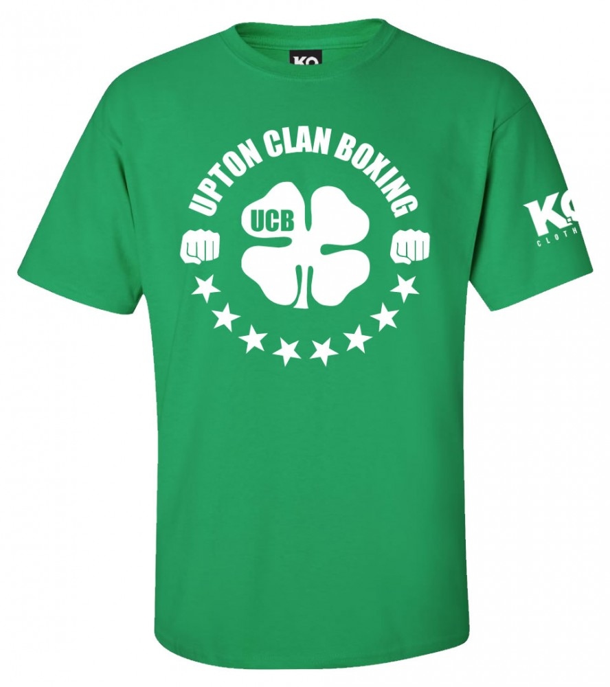 Upton Clan Ko Fight Night T Shirt Green Ko Clothing